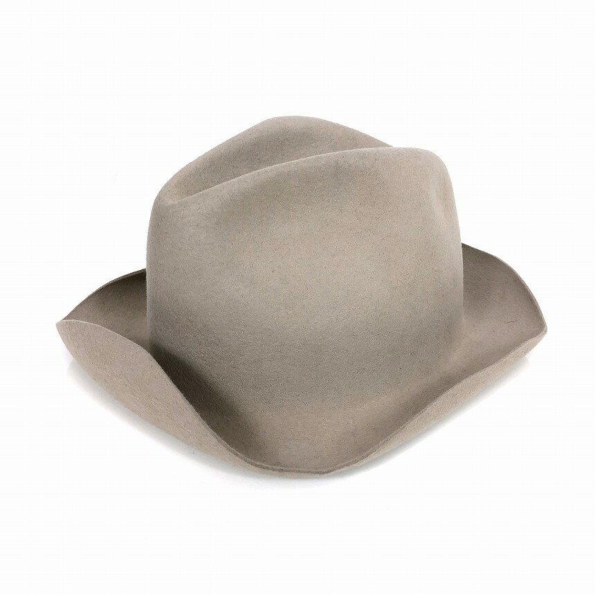 37612f1510e6a レナードプランク REINHARD PLANK 中折れ フェルト ハット 帽子 LAILA LAPIN L01 ベージュ M col.050  6512962008 メンズ 【】【ベクトル 古着】 181222 VECTOR×Refine