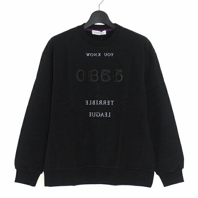 トップス, スウェット・トレーナー  DIET BUTCHER SLIM SKIN 18AW Embroidery Sweatshirt 2 D183C931 200518 VECTORRefine