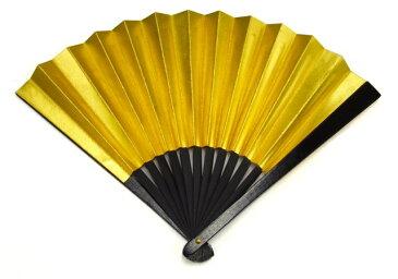 尾形刀剣 鉄扇8寸・金(TS-G)※本品は、メール便及び、ゆうパケット対応しておりません。