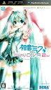 【中古】初音ミク -プロジェクト ディーヴァ- 2nd/PSP/ULJM-05681/B 12才以上...