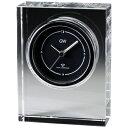 名入れ メッセージ彫刻 名入れ時計【退職記念 退職祝い】GLASS WORKS NARUMIノヴァ 電波時計卓上時計 置時計 ナルミ (鳴海製陶) 1