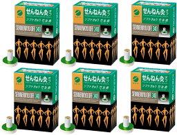 【送料無料 6箱セット】 セネファ せんねん灸オフ ソフトきゅう 竹生島 340点入(特大パッケージ)×6箱セット