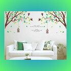 ウォールステッカー/木/植物/鳥かご木/おしゃれ/かわいい/グリーン/緑色/茶色/モダン/北欧/大きい/かわいい/絵/