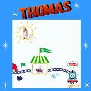 ウォール ステッカー トーマス キャラクター ディズニー フレーム アルファベット 子供部屋 ストーリー