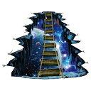 ウォールステッカー 窓 宇宙 子供部屋 壁穴 惑星 トリックアート 3...