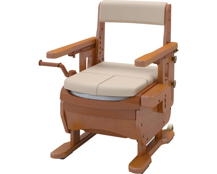 安寿 家具調トイレセレクトR はねあげ / 533-868 標準・快適脱臭 1台:福祉用具のバリューケア