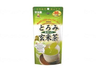 とろみ抹茶入り玄米茶 100g JAN4901178290063