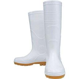 おたふく 安全耐油長靴 白 24.5 1足