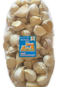 青森県産ホワイト六片にんにくお徳用利ん片にんにく1kg