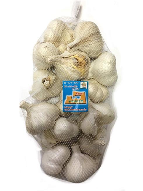 にんにく 青森県産 「ホワイト六片にんにく」 業務用にんにくLサイズ1kg 2020年新物「3kg以上送料無料」