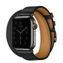 Apple Watch Hermes スペースブラックステン