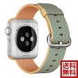 アップル(Apple) 純正 Apple Watch 38mmケース用 ウーブンナイロン (ゴールド/ロイヤルブルー)