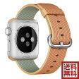 アップル(Apple) 純正 Apple Watch 38mmケース用 ウーブンナイロン (ゴールド/レッド)