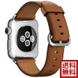 アップル(Apple) 純正 Apple Watch クラシックバックル (38mm, ブラウン)