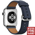 アップル(Apple) 純正 Apple Watch クラシックバックル (42mm, ミッドナイトブルー)