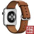 アップル(Apple) 純正 Apple Watch クラシックバックル (42mm, ブラウン)