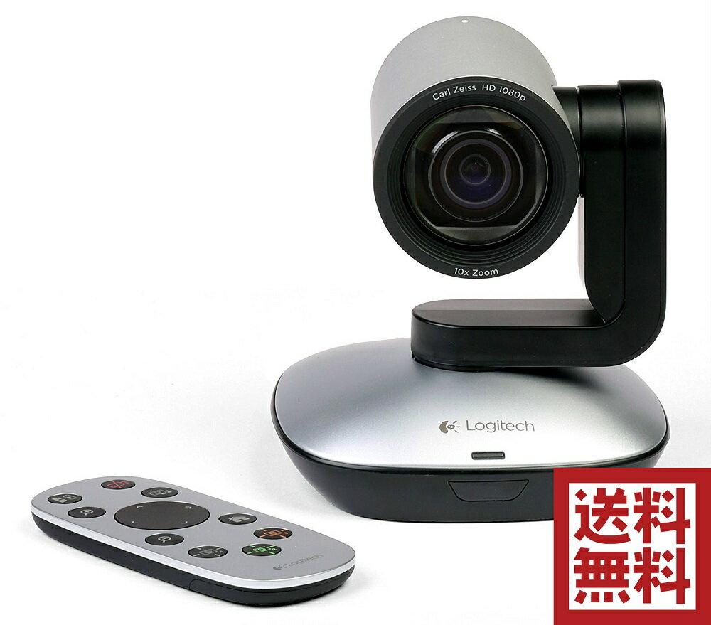 Logitech Logitech PTZ Pro Camera - USB HD 1080p PTZ Video Camera(960-001021):バリューマックス