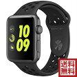 Apple Watch Nike+ 42mm スペースグレイアルミニウムケースとアンスラサイト/ブラックNikeスポーツバンド MQ1M2J/A アップルウォッチ 本体