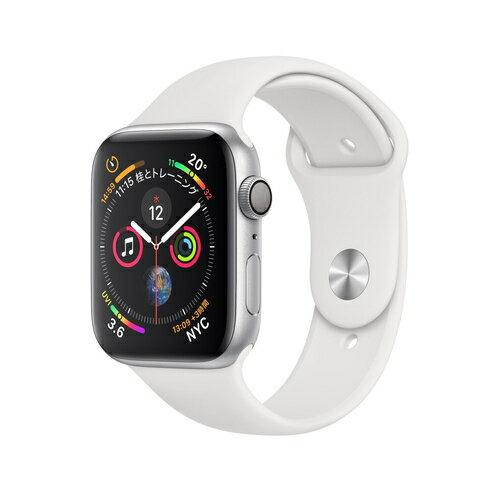 Apple Watch Series 4(GPS)40mm シルバーアルミニウムケースとホワイトスポーツバンド[アップルウォッチ シリーズ4]MU642J/A MU642JA|ROOM - 欲しい! に出会える。