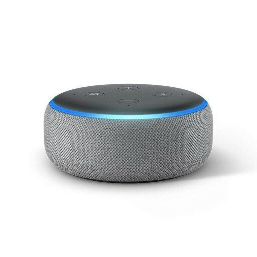 Amazon(アマゾン) Echo Dot エコードット[第3世代/Amazon Alexa](ヘザーグレー)|ROOM - 欲しい! に出会える。