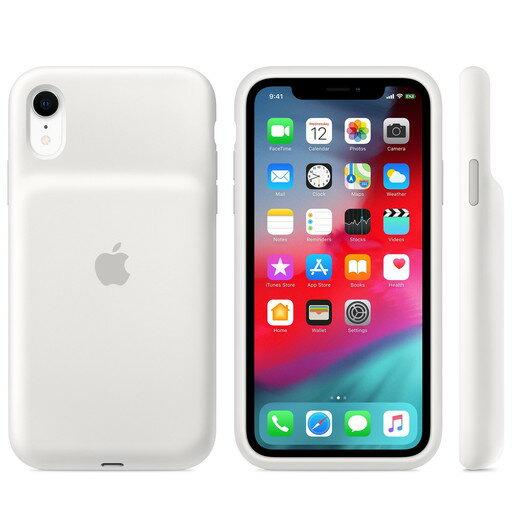 Apple(アップル)純正iPhoneXR(6.1インチ)SmartBatteryCaseスマートバッテリーケース[Qiワイヤレス充電対応](ホワイト)MU7N2ZA/AMU7N2ZAA