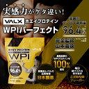 プロテイン VALX 国内生産 WPI 山本義徳 タンパク含有 96.4% ホエイ プロテイン バルクス 1kg 筋トレ タンパク質 アイソレート チョコレート ストロベリー ライチヨーグルト バナナ 抹茶 プレーン 男性 女性 安い コスパ 2