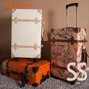 スーツケース 機内持ち込み可 トランクケース SS サイズ 一年間保証 1日〜3日用 小型 トランク キャリーケース キャリーバッグsuitcase TANOBI FPP03