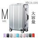 【10%OFFクーポン!!】スーツケース Mサイズ キャリー...