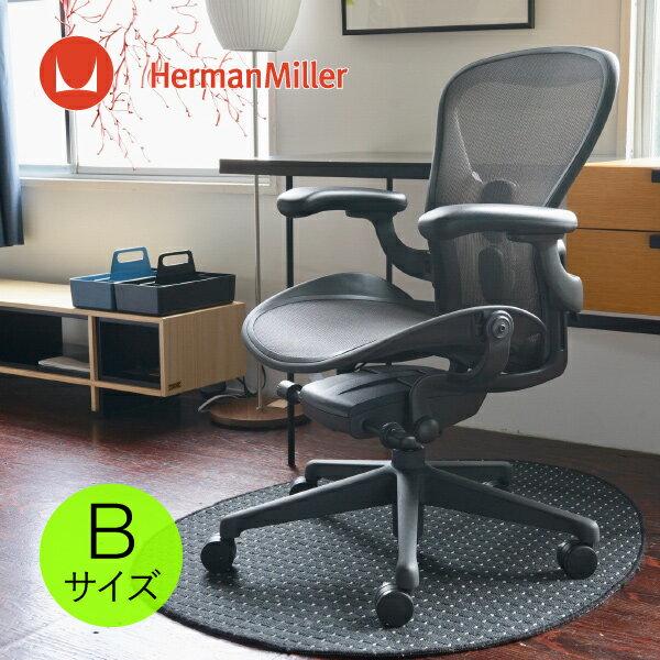 アーロンチェア リマスタード ポスチャーフィットSLフル装備 Bサイズ グラファイトフレーム グラファイトベース BBキャスター [AER1B23DWALPG1G1G1BBBK23103]HermanMiller(ハーマンミラー)