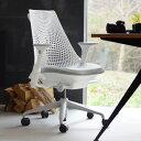 コクヨ デスクチェア オフィスチェア 椅子 duora デュオラ CR-GA3011E1 メッシュタイプ ハイバック 可動肘 ホワイトフレーム ランバーサポートなし アルミポリッシュ脚 -v フローリング用キャスター