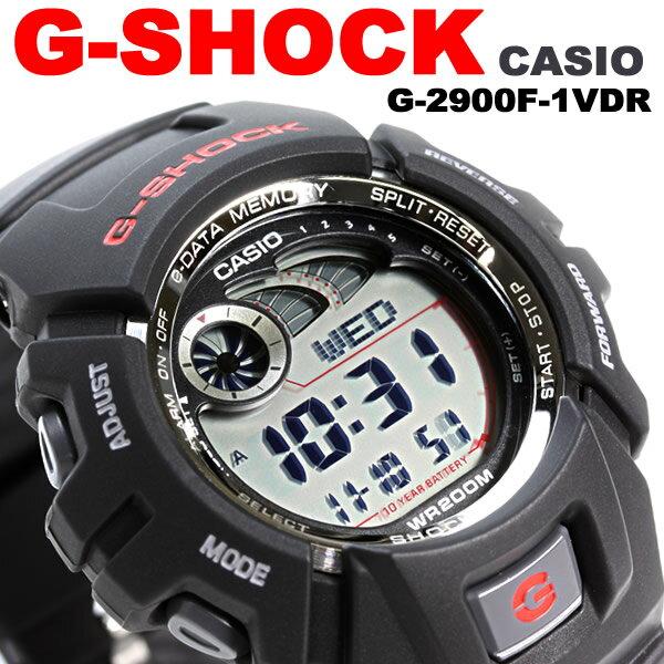 Gショック G-SHOCK g-2900f-1 【海外モデル e-データメモリー搭載モデル 】 正規品 CASIO カシオ 腕時計 デジタル腕時計 デジタルウォッチ メンズ腕時計 メンズウォッチ レディース腕時計 プレゼント ギフト にも♪