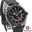 WENGER ウェンガー 腕時計 SQUADRON GMT スクアドロン ジーエムティー オールブラック WEN77073 送料無料