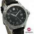 WENGER ウェンガー 腕時計 GST ジーエスティー ブラック WEN78235 送料無料