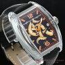 CHRISTIAN AUDIGIER クリスチャンオードジェー 腕時計 トノー型 レザーバンド メンズウォッチ SWI-614