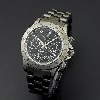 Watch men chronograph watch Salvatore Mara SalvatoreMarra10 anniversary memory model watch sm12117-bkr