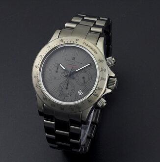Watch men's Chronograph Watch Salvatore Mara SalvatoreMarra 10 anniversary commemorative model watch sm12117-gyr