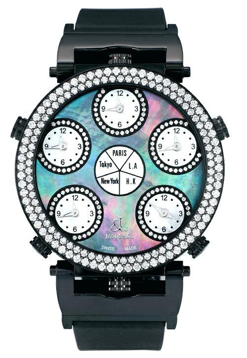 腕時計 ユニセックス JACOB&Co. ジェイコブ 腕時計 SIX TIME ZONE POCKET WATCH jc-lg1bkd 正規品