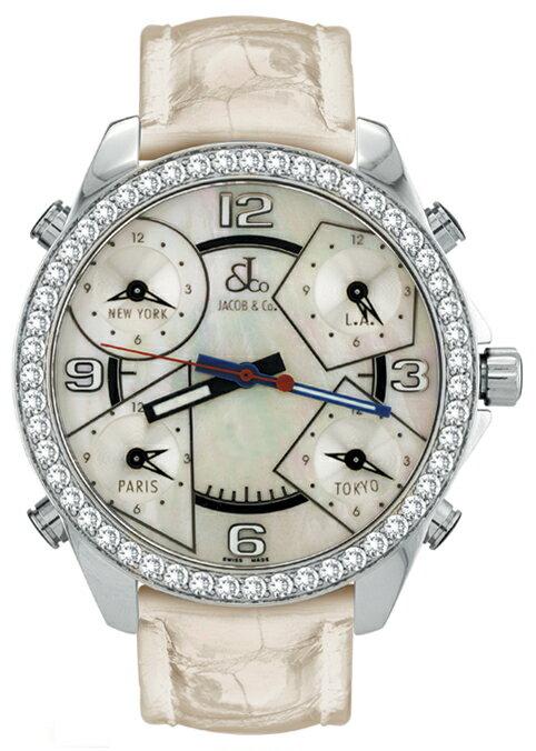 腕時計 ユニセックス JACOB&Co. ジェイコブ 腕時計 FIVE TIME ZONE(40mm) jc-m14d 正規品