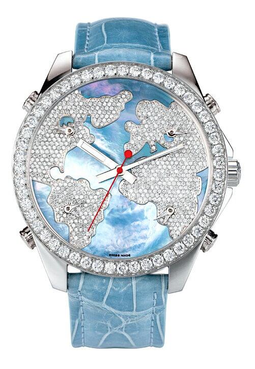 腕時計 ユニセックス JACOB&Co. ジェイコブ 腕時計 FIVE TIME ZONE(40mm) jc-m47wmdc 正規品