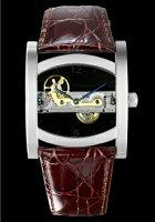腕時計メンズアルカフトゥーラARCAFUTURA手巻きメンズ腕時計MechanicalSkeletonBridges13385rd