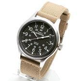 TIMEX EXPEDITION SCOUT METAL タイメックス エクスペディション スカウト メタル 腕時計 メンズ レディース ミリタリー 黒 ブラック サンドストラップ T49962