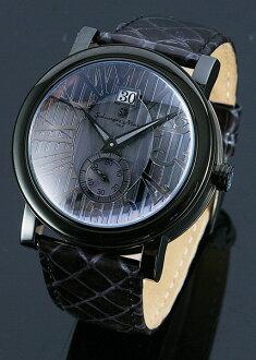 And Rakuten Super Sale / Super SALE Salvatore SM9036-IPBK Salvatore Marra, Mara mens watch