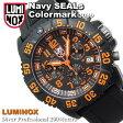 ルミノックス LUMINOX ネイビーシールズ カラーマークシリーズ NAVY SEALs Color Mark Series ダイバーズウォッチ lm-3089 オレンジ 防水 ミリタリー ルミナイトシステム 腕時計 メンズ メンズウォッチ 送料無料