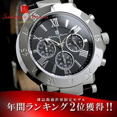 腕時計 メンズ スーツにもカジュアルにも!Salvatore Marra 世界限定 クロノグラフ腕時計 メン...