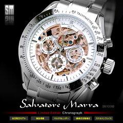 腕時計 メンズ 雑誌POWERWatch掲載 メンズウォッチ腕時計 メンズ サルバトーレマーラ Salvatore...