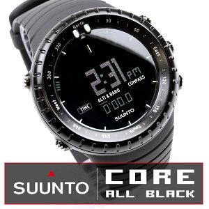 SUUNTO〜フィンランドの最高傑作ブランド〜SUUNTO CORE スント コア オールブラック ss01427901...