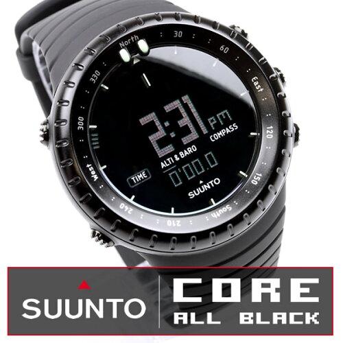 スント SUUNTO コア オールブラック ブランド腕時計CORE Vector ベクター ...