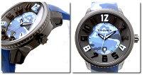 Tendenceテンデンスメンズ腕時計ラウンドガリバーカモフラージュT0430029