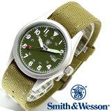 [正規品] スミス&ウェッソン Smith & Wesson ミリタリー腕時計 MILITARY WATCH OLIVE DRAB SWW-1464-OD [あす楽] [送料無料] [雑誌掲載ブランド]