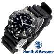 [正規品] スミス&ウェッソン Smith & Wesson スイス トリチウム ミリタリー腕時計 SWISS TRITIUM 357 SERIES DIVER WATCH RUBBER BLACK SWW-357-R [あす楽] [ラッピング無料] [送料無料]